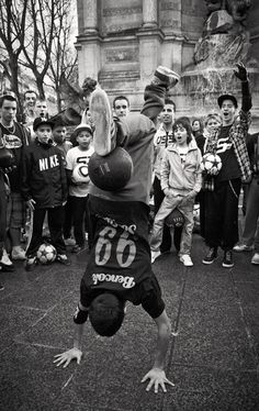 Street Soccer by Laurence Penne