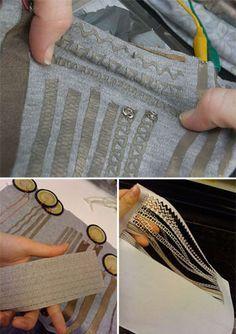 stretchable-textile-traces E Textiles, Smart Textiles, Wearable Technology, Science And Technology, Conductive Materials, Arduino, Geek Stuff, Electronics, Maker Space