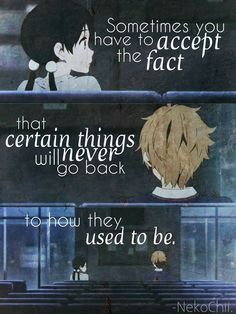 Anime: Tamako love story i can't accept itt help me Sad Anime Quotes, Manga Quotes, Sad Quotes, Life Quotes, Sad Love Stories, Love Story Quotes, Tamako Love Story, Anime Love Story, Otaku