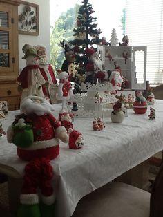 Minha mesa de Natal!