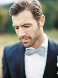 A very handsome groom: http://www.stylemepretty.com/2013/11/29/a-fall-wedding-and-honeymoon-inspiration-with-trent-bailey-photography/ | Photography: Trent Bailey - http://www.trentbailey.com/