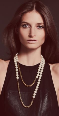 Don't forget to add you're own style!    Jewelry Tip: Pearls, Clean & Timeless