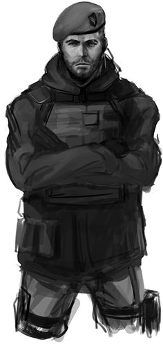 """Infinity Ward, you broke my heart :< I usually don't draw fanarts, but this character deserves special treatment (dat accent!). Here's John """"Soap"""" MacTavish from CoD:MW. Took me around 3 hours a..."""
