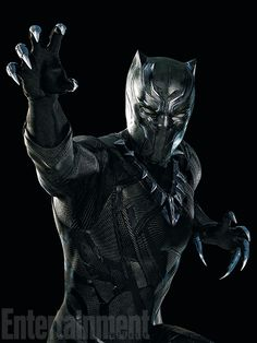 Black Panther is no joke.  It'd be easy to snark about how Captain America and Iron Man were barely managing to hold their alliance together until a certain black cat crossed their path, but the truth is – they both want him on their side.  Black Panther commands respect. (And you definitely don't want him against you.)