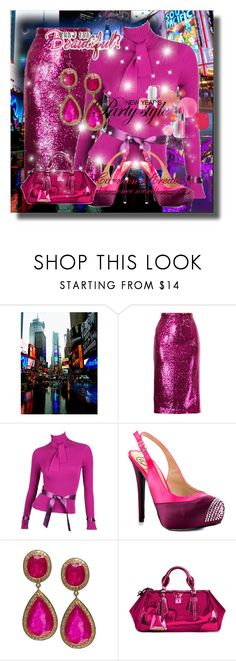 """""""Journi's """" Happy New Year's Eve Party Outfit"""" For Contest"""" by carmen-ireland ❤ liked on Polyvore featuring G.V.G.V., Karl Lagerfeld, Penny Loves Kenny, Jade Jagger, Burberry and Clinique"""