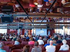 At Ambassador Lounge guest enjoy educational lectures led by renown historians and other academic figures Historian, Southeast Asia, Art History, Sailing, Cruise, Lounge, Journey, Ship, Led