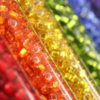 Round Seed beads with different sizes, are most commonly used for craft. As the small shape, it can be created to different appearance.