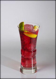 koktelmania.hu - Koktélok - Red Bermuda Daiquiri, Bacardi, Cocktails, Drinks, Shot Glass, Tableware, Red, Craft Cocktails, Drinking