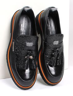 Alessandro Dell'Acqua mens loafers F/W2016-17 @giannakazakou Loafers Men, Derby, Oxford Shoes, Fall Winter, Dress Shoes, Lace Up, Flats, Sneakers, Collection