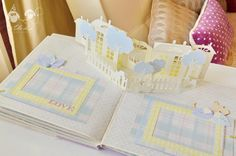 Альбом или книга сказок для принцессы Василисы / Fairy tale slyle scrap album