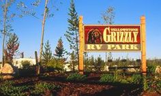 Great RV Park in West Yellowstone-Yellowstone Grizzly RV Park & Cabins
