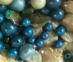 Elizabeth Vitale The California Ocean Beads Of Course California