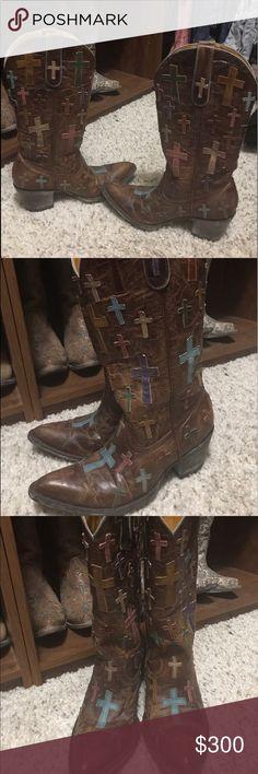 Old Gringo Ooh my god boots size 7 Old Gringo Ooh my god boots size 7 B worn once for pictures. Excellent shape still. Old Gringo Shoes Heeled Boots