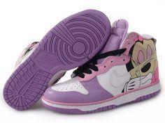 online store 66940 63b33 Chaussures Nike Dunk High Rose Blanc Jaune Noir -  Nike Chaussure Pas  Cher,Nike Blazer and Timerland