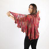 Ravelry: Fan Shawl pattern by SKEINO LLC