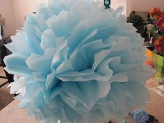 How to make tissue paper balls