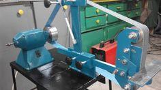 "Homemade 2""x72"" belt grinder from scrap /Szlifierka taśmowa 50x2000 ze z..."