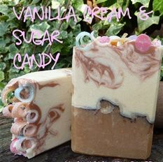 Creamy and soft sweet delight  www.purosoaps.com