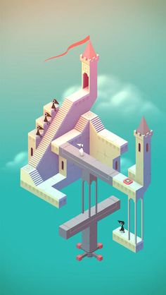 Monument Valley by UsTwo is quite possible the app of the year! Amazing! $3.99 on iTunes