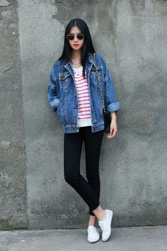 #asian #fashion #streetstyle | More outfits like this on the Stylekick app! Download at http://app.stylekick.com