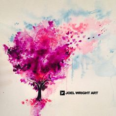 Joel Wright watercolor