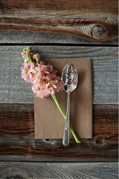 decor, dinners, bouquets, diy gifts, spoon, handmade gifts, blog, blues, flower