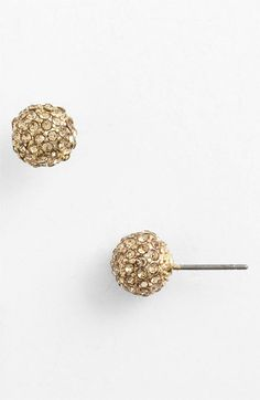 Anne Klein 'Astra Fireball' Stud Earrings available at Nordstrom Gemstone Earrings, Women's Earrings, Gold Light, California Wedding, Anne Klein, Topaz, Nordstrom, Women Jewelry, Makeup