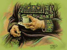 كل عام وامنا فلسطين بخير لوحه للفنان رائد قطناني Palestine History, Palestine Art, Music Drawings, Art Drawings, Calligraphy Art, Animal Drawings, Lovers Art, Illustration Art, Gallery Wall