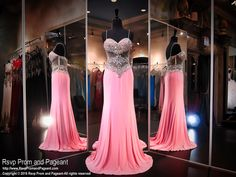 This sleek and sexy dress with its sheer beaded bodice is a must have for prom, and it's at Rsvp Prom and Pageant, your source of the HOTTEST Prom and Pageant Dresses!