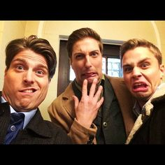 When Calls The Heart Season 2 Behind the Scenes. What Erin found when she picked up her ipad! :D  Marcus,Daniel,and Max.