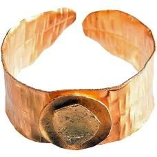 Gold Age Cuff  by Chic Jewel Couture