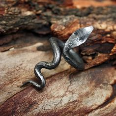 Forged Iron Handmade Viking Style Serpent Snake by MAGICrebEL, $15.99