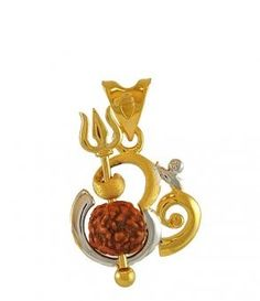 Buy Designer & Fashionable Rudraksh Pendant With Chain. We have a wide range of traditional, modern and handmade With Chain Mens Pendants Online Om Pendant, Gold Pendent, Locket Design, Jewelry Design, Kids Jewelry, Jewelry Gifts, Gold Chain Design, Gold Chains For Men, Imitation Jewelry