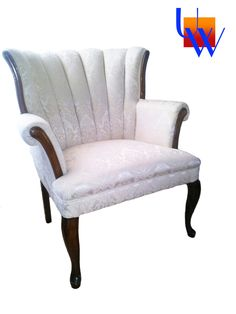 Vintage armchair by Upholstery Works. Las Vegas, NV http://www.UpholsteryWorksLV.com