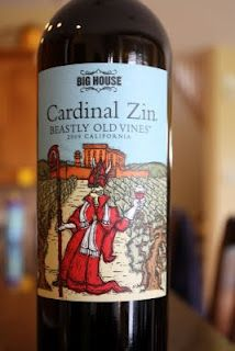 2009 Big House Cardinal Zin Beastly Old Vines - Spice From the Slammer. $10