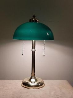 Find More Table Lamps Information About Free Shipping/traditonal Antique  Gold Bankers Lamp/ Bankers Lamp/swing Arm Desk Lamp With Green Shade,High U2026