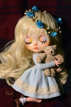PJdoll- [! Kiss Me !]Custom Blythe Doll/OOAK, handmade blythecustome