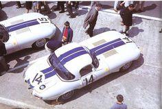 Briggs Cunningham Lightweight E Type at Le Mans 1963 -- Jaguar E Type