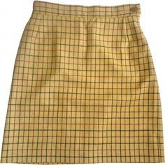 SKIRT VIVIENNE WESTWOOD (75.505 CLP) ❤ liked on Polyvore featuring skirts, bottoms, wool skirt, vivienne westwood skirt, beige skirt and vivienne westwood