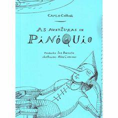 Livro - Aventuras De Pinóquio, As