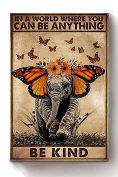 Elephant Poster, Elephant Wall Art, All Poster, Poster Prints, You Can Be Anything, Hippie Art, Art Plastique, Art Gallery, Artsy