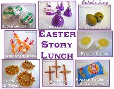 A scripture lunch that tells the story of the Passion of the Lord. Perfect for Good Friday!