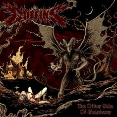 Coffins The Other Side of Blasphemy Limited Edition Vinyl Colored Copies Are Limited Coffins is a Japanese doom-death band, formed in that has Blood And Bone, Color Copies, Death Metal, The Other Side, Lp Vinyl, Music Bands, Coffin, Album Covers, The Darkest