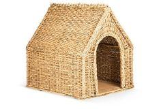 Wicker Dog House