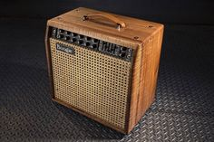 """The NEW Mark Five: 35 1x12 combo, shown here in our Private Reserve Tasmanian Blackwood with Wicker Cane Grille!  We've added power in the Mar Five: 35…"""