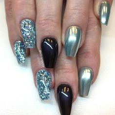 673 best coffin nails images in 2019  nail designs