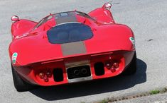 Ford Prototype Racing Car Back - Cars & Motorcycles Club Slot Car Racing, Auto Racing, Drag Racing, Ford Motorsport, Porsche 550, Because Race Car, Old School Cars, Old Race Cars, Ford Capri