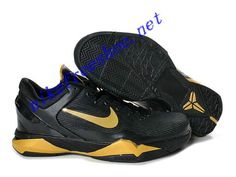 newest collection bc7bb f0c4d Nike Zoom Kobe 7 Colorways Shoes For Sale Black Gold