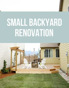 Small Backyard Renovation - Cassie from The Inspired Room