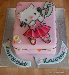 Hello Kitty Ballerina birthday cake